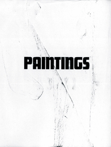 Wade Guyton: Black Paintings