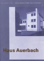 Walter Gropius With Adolf Meyer: Haus Auerbach