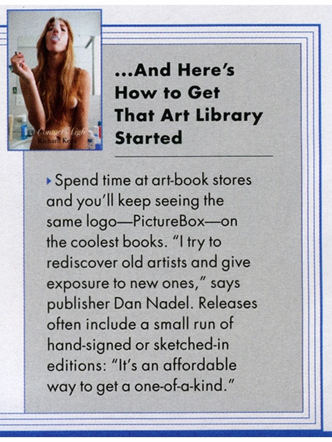 Wes Lang & PictureBox Publisher Dan Nadel Featured in GQ