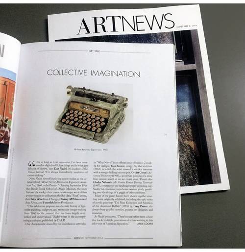 'What Nerve' Previewed in ARTnews