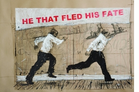 Featured image is reproduced from <i>William Kentridge: Notes Towards a Model Opera</i>.