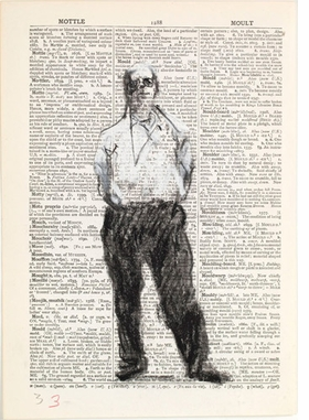 Featured image is reproduced from <I>William Kentridge: Secondhand Reading</I>.