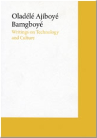 Writings On Technology And Culture Witte de With Center for Contemporary Art Introduction by Bartomeu Mar�.
