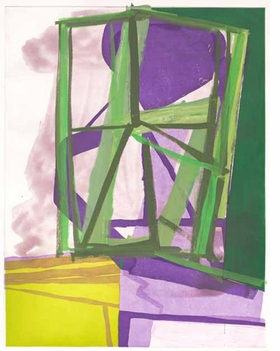 "Featured image, ""O & N (working proof)"" (2007), by Amy Sillman, is reproduced from <I>Yes, No, Maybe: Artists Working at Crown Point Press</I>."
