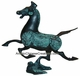 Chinese Brass Ware - Galloping Horse Treading on a Flying Swallow #7
