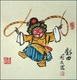 Chinese Brush Painting - Opera / Monkey King #523