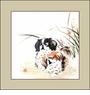 Chinese Brush Painting - Puppies #14
