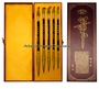 Chinese Calligraphy Set  - Five Chinese Calligraphy Brushes  #12