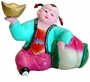 Chinese Clay Crafts - Good Fortune Kid #5