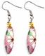 Chinese Cloisonne Earrings (pair) #14