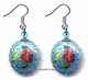 Chinese Cloisonne Earrings (pair) #37