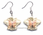 Chinese Cloisonne Earrings (Pair) - Butterfly #48