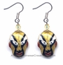 Chinese Cloisonne Earrings (pair) - Chinese Opera #38