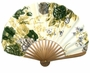 Chinese Folding Fan - Flowers