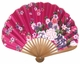 Chinese Hand Fan - Flowers  #15