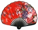 Chinese Hand Fan - Flowers