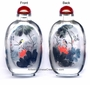Chinese Inside Painted Snuff Bottle - Birds & Lotus #39