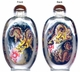 Chinese Inside Painted Snuff Bottle - Dragons #20