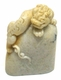 Chinese Seal Carving / BaLin Stone - Dragon (Irregular Shape) #8