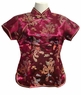 Chinese Silk Blouse - Dragon & Phoenix #13