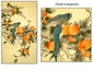 Chinese Silk GongBi Painting - Birds #32
