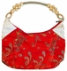 Chinese Silk Handbag - Dragon & Phoenix #56