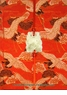 Chinese Silk Journal - Cranes (Lined) #57