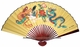 Large Chinese Wall Fan - Dragon & Phoenix #1