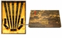 Chinese Wood Chopstick Set - Dragon (5 Pairs) #16