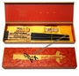 Chinese Wood Chopstick Set - Dragon (2 Pairs) #15