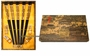 Chinese Wood Chopstick Set - Dragon  (5 Pairs) #20