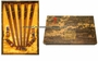 Chinese Wood Chopstick Set - Dragon  (5 Pairs) #21