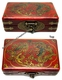 Chinese Wooden Jewelry Box - Dragon & Phoenix #70