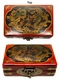 Chinese Wooden Jewelry Box - Dragon & Phoenix  #73