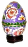 Cloisonne Egg - Flowers #14
