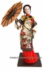Collectible Chinese Doll - Maiden Holding Umbrella #200