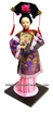 Collectible Chinese Doll - Princess Holding Fan #187