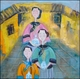 Contemporary Chinese Oil Painting - Ladies #20