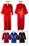 Embroidered Chinese Silk Robe - Dragon