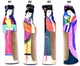 Hand Painted Chinese Wood Comb - Maidens #2