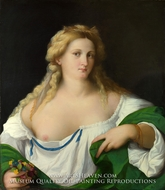 A Blonde Woman by Palma Vecchio