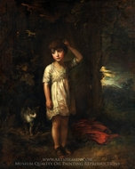 A Boy with a Cat, Morning painting reproduction, Thomas Gainsborough