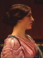 A Classical Beauty painting reproduction, John William Godward