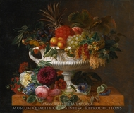 A Classical Urn with Gooseberries painting reproduction, Johan Laurentz Jensen