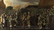 A Company of Amsterdam Militiamen painting reproduction, Dutch Painter