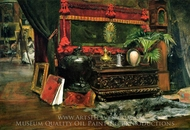 A Corner of My Studio painting reproduction, William Merritt Chase