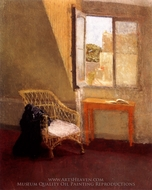 A Corner of the Artist's Room in Paris painting reproduction, Gwen John