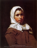 A Country Lass painting reproduction, Diego Velazquez