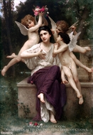 A Dream of Spring (Reve de printemps) by William Adolphe Bouguereau