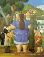 A Family by Fernando Botero